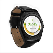 G4 Bluetooth Stainless steel Strap SmartWatch SIM TF Heart Rate Monitor Smart touch Watch for Samsung gear s2 android VS IWO G3(China)