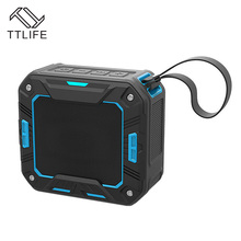 TTLIFE Wireless Speaker Bluetooth 4.1 Portable Bass 3D Stereo 2000mAh 5W Waterproof IP65 Long Standby Rider Driver caixa de som(China)