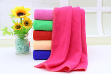 Bathroom appliance high quality soft microfiber Bath towel and super water absorption can also be used to clean car