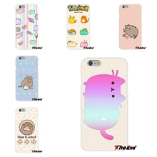 For Samsung Galaxy A3 A5 A7 J1 J2 J3 J5 J7 2016 2017 Adorable Kawaii Pusheen Cat Pattern Silicone TPU Soft Phone Case Ultrathin