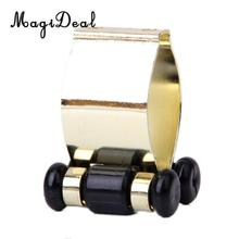 MagiDeal High Quality 1Pc Professional Metal Cue Clip for Snooker Billard Pool Cue Rack Golden Accessory Portable Cue Holder