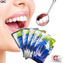 28pcs Oral Hygiene Teeth Whitening Strips Professional Double Dental White Teeth Strips Gel Bleaching Tooth(China)