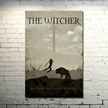 POPIGIST-The witcher 3 Wild Hunt Art Silk Or Canvas Poster Huge Print 13x20 24x36inch For Home Decoration 18