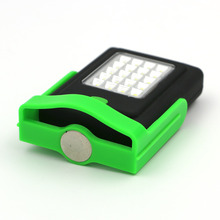 Portable LED Night Light Flashlight LED Torch Lantern Work Light 23 LED 2 Modes Camping Bicycle Lamp with Built-in Magnet Hook
