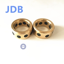 Buy 2017 Promotion Rolamentos Thrust Bearing Jdb 253350 Solid Lubricating Bearings Graphite Inserts Copper Sets Sleeve Jdb25*33*60
