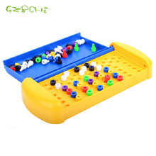 Mastermind the classic code cracking game Predictable Beads Table Games Cracked Passwords Educational Toys toy
