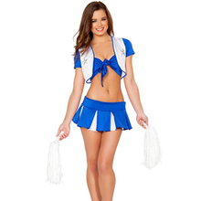 Excited Fashion Dress Style Glee Cheerleading Uniforms Sexy Dress Uniform Adult Girls Cheerleader Costume L1495