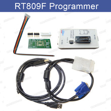 RT809F Serial ISP Programmer Tool for PC MainBoard LCD Controller Read and Write Kits USB EPROM FLASH VGA ISP Best Quality