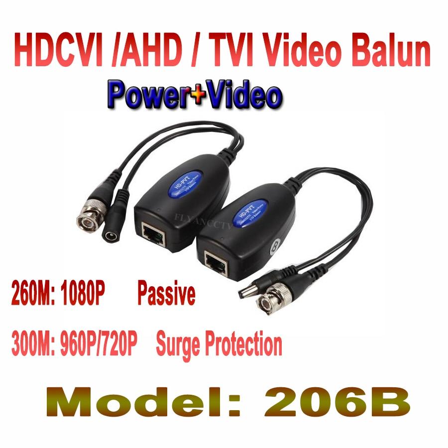 10 Pair 1CH Passive Balun RJ45 CCTV Balun Video Balun Transceiver Supply Power For HDCVI/HDTVI/AHD Analog High Definition Camera<br><br>Aliexpress