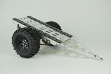 1/10 Simulation of metal trailer  SCX10 CC01 F350 HILUX 90034 RC4WD D90
