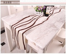New Chinese Silk and Satin Wedding Decoration Modern Table Runner Chinese Style Chemin De Table for Wedding Party Table Cloth(China)