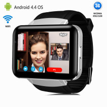 3G Android Smart Phone Watch Quad Core Bluetooth Wifi Tv Sports Wristwatch Smartwatch Supports WCDMA GPS Whatsapp Skype(China)