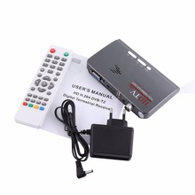 Digital TV Receiver 1080P HD HDMI DVB-T2 TV Box Tuner Receiver Converter Remote Control With VGA Port For TV 2017 New