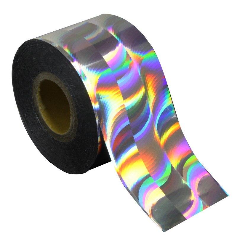 120m*4cm 3D Nail Art Decoration Stickers Colorful Nail Laser Transfer Foils  Beauty DIY Manicure Fingernails Materials WY301<br><br>Aliexpress