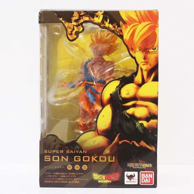 Dragon Ball Z Super Saiyan Goku Son Gokou PVC Action Figure Model Collection Toy 18cm Free Shipping<br><br>Aliexpress