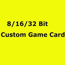 8/16/32 Bit Game Card Custom Game Cartridge For Game Player(China)