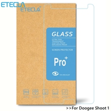 8Pcs Doogee Shoot 1 Tempered Glass Doogee Shoot1 Glass Doogee Shoot Screen Protector HD HD 0.26mm 0.33mm Transparent Glass