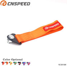 CNSPEED Racing Car High Quality tow strap/tow ropes/Hook/Towing Bars (red blue purple orange black yellow green)(China)