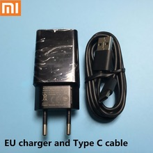 Original Xiaomi Quick Charger 2.0 USB Wall Fast charger adapter for Xiaomi Note MI4C Mi4S Mi5 Redmi NOTE1/2/3/4X Type C cable