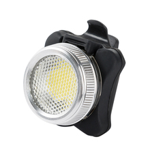 Practical Bicycle Bike 3 LED COB Head Front lLight Aluminum Alloy Rear Tail light Rechargeable 4 Modes Cycling Lamp Accessories(China)