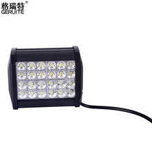 8pcs 72W 24*3W Waterproof LED Work Light for Indicators Offroad/Boat/Car Driving/SUV/Constructions Bulbs AU Warehouse