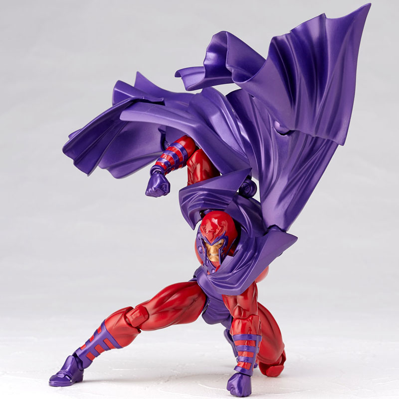 FIGMA Series NO.006 Magneto Figure NO.006 Revoltech Magneto PVC Action Figures e Collection Model Toy Doll Gift (4)
