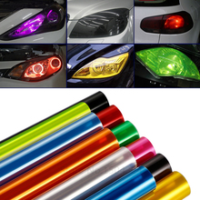 Car-Styling 30CMX100CM Auto Car Light Headlight Taillight Tint Styling Waterproof Protective Vinyl Film Sticker Car Accessories