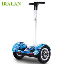 smart balance electric scooter 10 inch hoverboard skateboard IRALAN A8 2 wheel with handle hover board UL2272 20km mileage