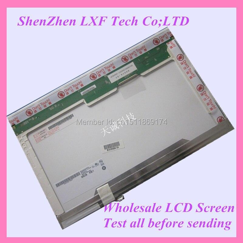 14.1 Laptop lcd screen B141EW01 v.1 1CCFL 1280x800 WXGA<br><br>Aliexpress