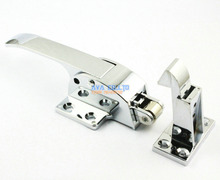 Latching Type Airtight Chromed Plate Handle for Freezer Door(China)