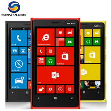 Original Unlocked Nokia Lumia 920 GPS WiFi 3G&4G 32GB ROM 1GB RAM 8MP Camera Unlocked Windows Cell phone Free Shipping
