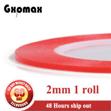 1x (0.2mm Thick) 2mm *25M Strong Acrylic Adhesive Clear Double Sided Tape, No Trace, for Phone Display, Battery, Lens Assemble