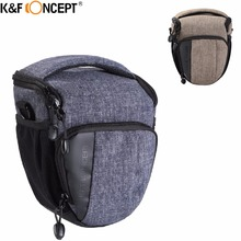 Big Sale K&F CONCEPT Waterproof Camera Messenger Bag Multi Grey/Khaki With  Rain Cover Hold 1 Camera+Lens Morden for Travelling