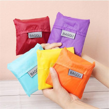Housewife Folding Pouch Fruits Vegetables Storage Bag Reusable Shopping Shoulder Tote Handbags Grocery