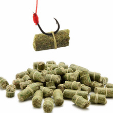 2 bags carp fishing bait smell Grass Carp Baits Insect Elastic Particle Rods Fishing Lures