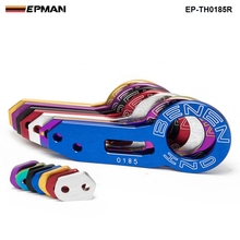 EPMAN - Anodized Universal Rear Tow Hook Billet Aluminum Towing Kit For JDM Racing EP-TH0185R(China)