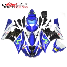 Fairings For Yamaha YZF-R6 YZF600 R6 Year 06 07 2006 2007 ABS Motorcycle Full Fairing Kit Moto Bodywork Cowling Blue