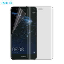 IMIDO 3D Full Cover Screen Protector Soft TPU Film For Huawei P10 P10 Lite Mate 9 Honor 9/8 P8 Lite 2017 (Not Tempered Glass)(China)