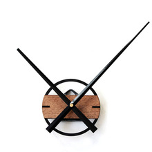 New Modern Art Minimalist Wood Wall Clock Unique Luxury DIY Individuality Natural Artistic Style Vogue Silently Decor Home Clock