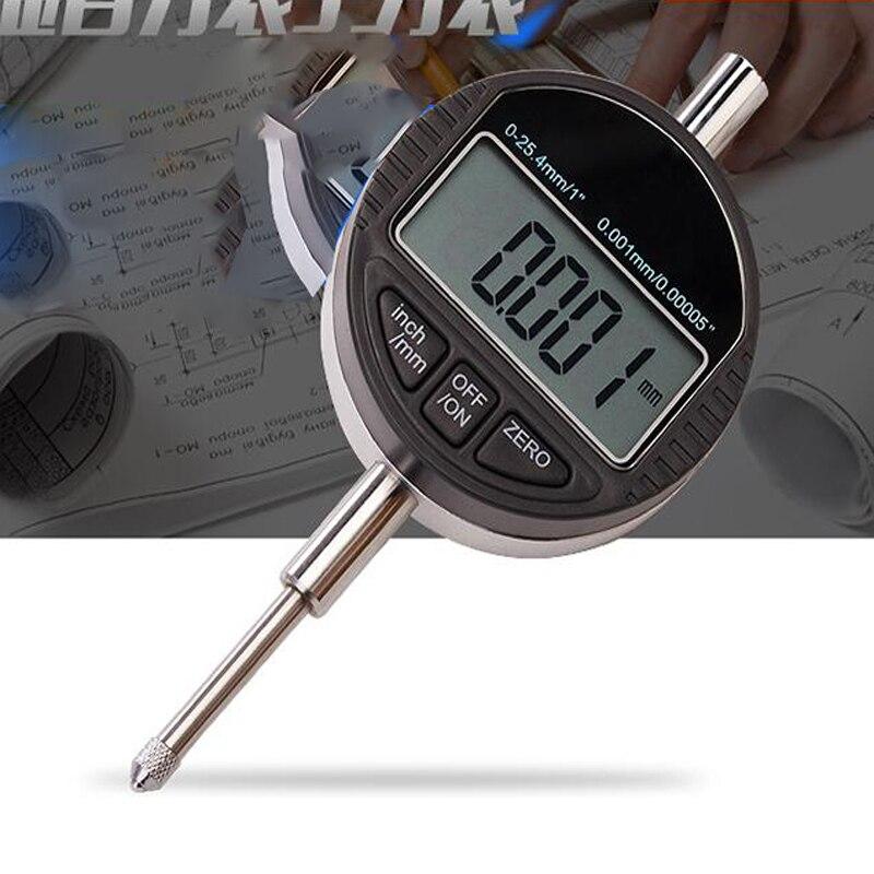 digital Dial Indicator Digital Indicator  electronic indicator range 0-25.4mm /0.001 inch and metric digital indicator with LCD<br>