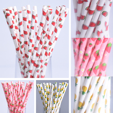 Buy 100pcs/lot Fashion Exquisite Designs Paper Straws Wedding Decoration Birthday Party Decorations Creative Paper Drinking Straws for $3.68 in AliExpress store