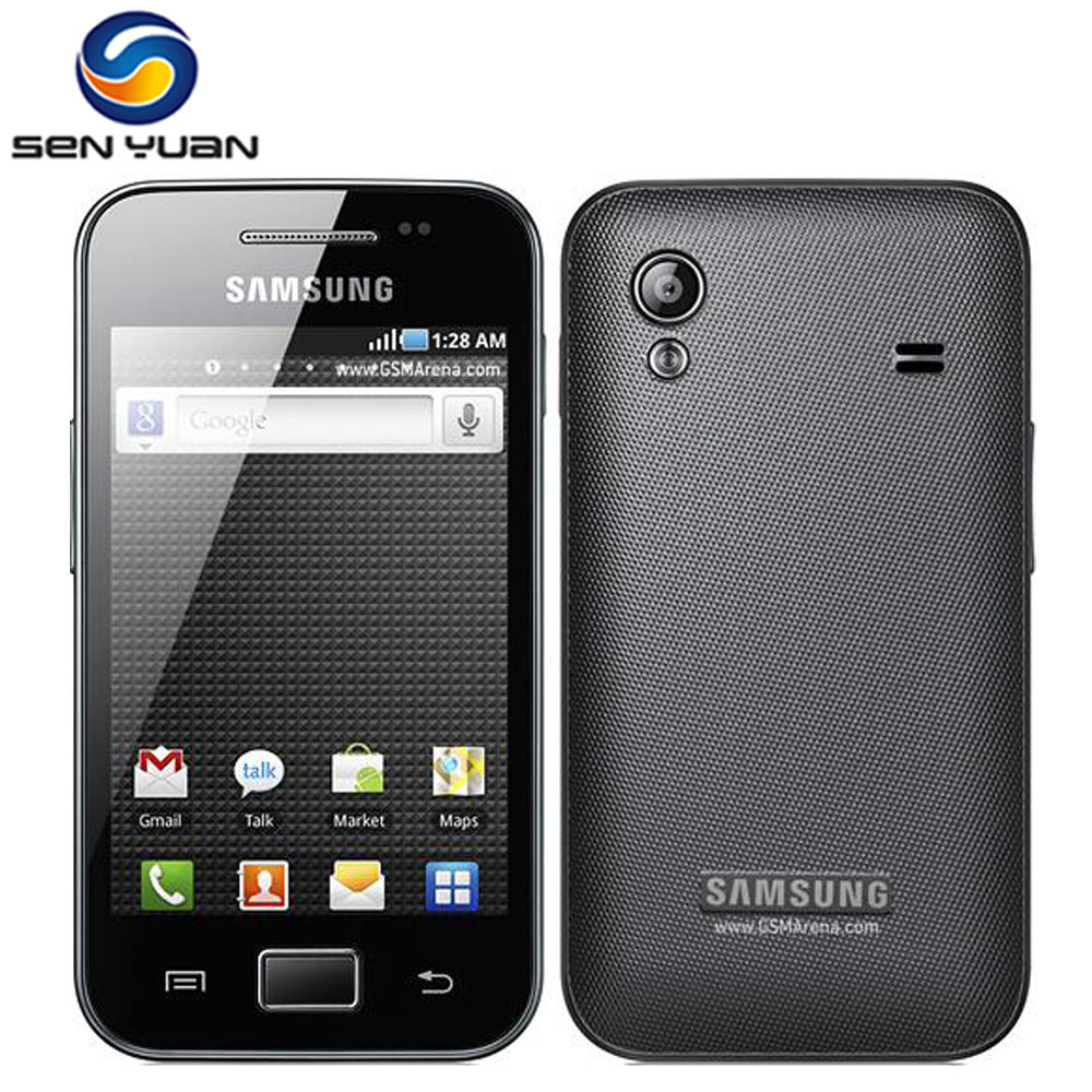 S5830i Samsung Galaxy Ace S5830 Original Android 5MP WIFI GPS Unlocked Mobile Phone Free Shipping(China)