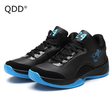 Rubber Foaming Sole Basketball Shoes, High Quality Cushioning Basketball Shoes for Men, Ankle Protection Men Combat Boots Shoes.(China)