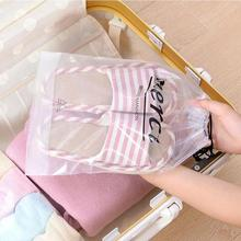 1pc Thick transparent PVC waterproof bag Drawstring travel housing bag home casual Storage Bag creative Housing Bag 5(China)