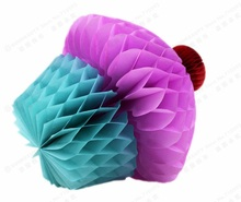 "(Pink,tiffany blue) 8""(20cm) Cupcake Honeycombs Kids Birthday Party Decoration Hanging Decorations Summer Gift Table Centerpiece"