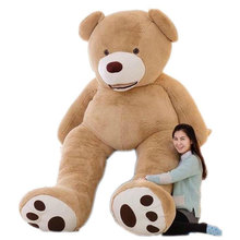 New Arriving 130cm 200cm Bear Toys Plush Skin Empty Huge Teddy Bear Plush Soft Comfortabling Toy Valentine's Day Gift HT3710
