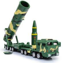1:64 scale diecast truck China Dongfeng DF31A intercontinental ballistic missile launch Vehicle metal model collection toys(China)