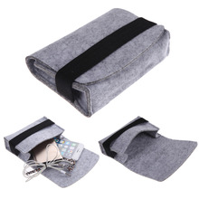"New Arrival 2pcs 2.5"" Mini USB Hard Drive Disk HDD Carry Case Cover Pouch Bandage Bag for PC Laptop"