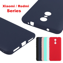 2017 Ultra Thin Anti-skid Rubber Frost Matte Cover For Xiaomi Redmi Note 4 3/2 redmi 4 16G/32G Mi4 5 5S plus Redmi Note 4X cases