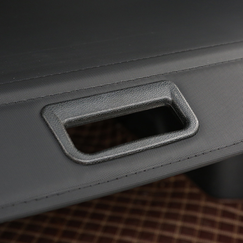 rear parcel shelf 2007-2016 FOR Mitsubishi Outlander  trunk cover material curtain rear curtain retractable spacer 13 (2)